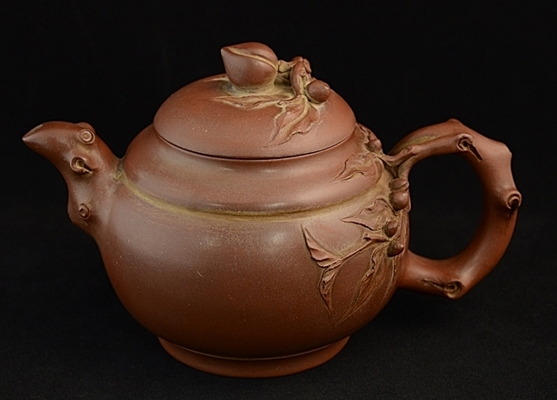 中国美術 紫砂壺 朱泥