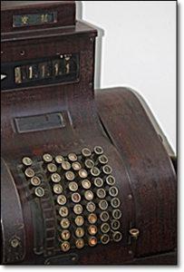 レトロ 金銭登録機 レジスター 骨董