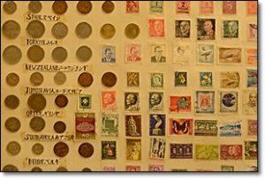 アンティーク 外国 切手 コイン