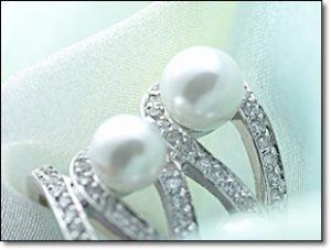 指輪 真珠 ダイヤモンド