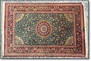 ペルシャ絨毯 羊毛