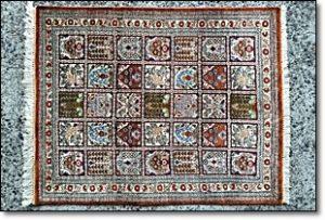 ペルシャ絨毯 絹