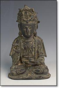 古銅 坐像 仏像