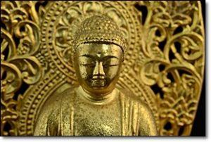 鍍金 仏像 釈迦如来