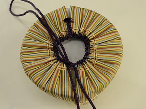 橘結び 花結び 仕覆 茶道具