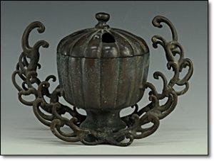青銅 中国 骨董