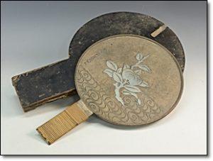 骨董 古鏡 手鏡