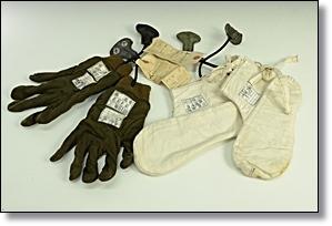 海軍 電熱航空被服 旧日本軍 手袋 足袋