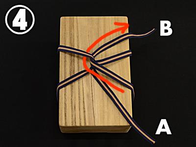 箱紐の結び方 骨董