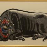 小松均 黒牛図