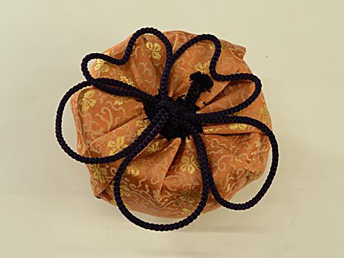 桜結び 花結びの基本 仕覆の紐結び