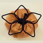 桔梗の花結び 仕覆 茶道具