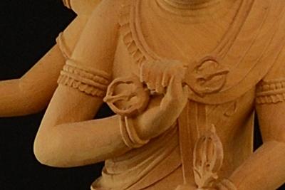仏像 金剛杵