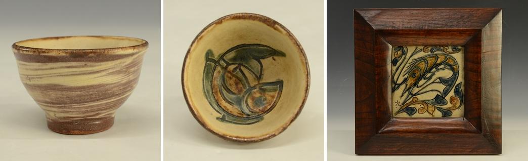 人間国宝 魚の絵 金城次郎 陶芸