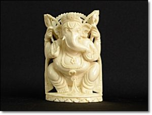 ヒンドゥー教 象牙 骨董