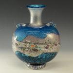 黒木国昭 ガラス花瓶
