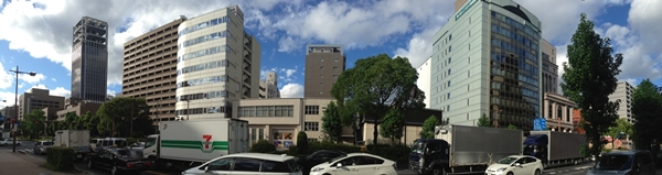愛研陶芸株式会社 国泰寺店から2号線の写真